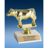 Angus Steer Sport Figure Trophy 6""