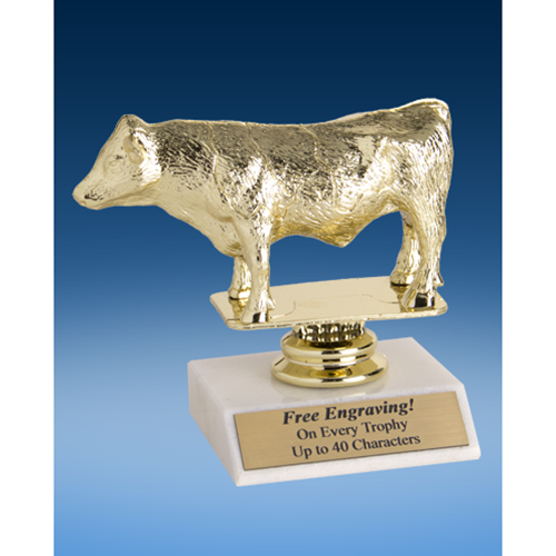 """Dairy Bull Sport Figure Trophy 6"""""""