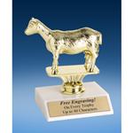"""Dairy Goat Sport Figure Trophy 6"""""""