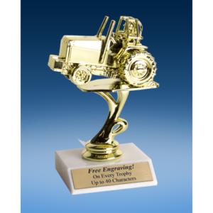 """Power Tractor Sport Figure Trophy 6"""""""