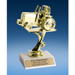 Power Tractor Sport Figure Trophy 6""
