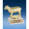 """Sheep Sport Figure Trophy 6"""""""