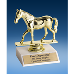 Quarter Horse Sport Figure Trophy 6""