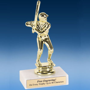 "Baseball Econoline Trophy 6""-0"