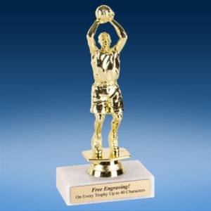 "Basketball Male Econoline Trophy 6""-0"