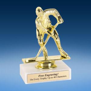 "Hockey Econoline Trophy 6""-0"