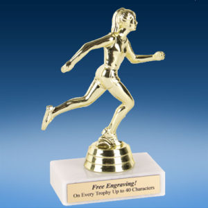 "Track Female Econoline Trophy 6""-0"