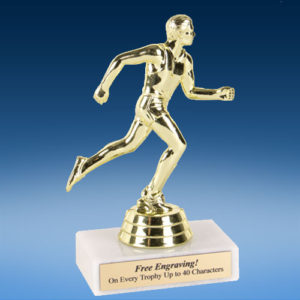 "Track Male Econoline Trophy 6""-0"