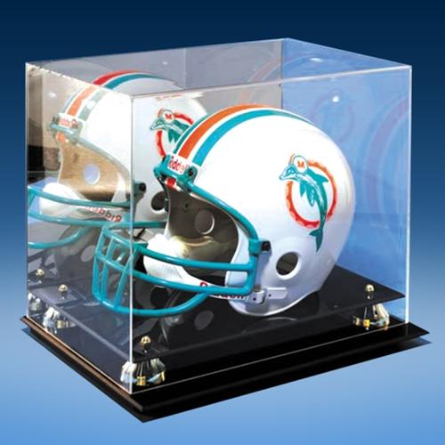 Helmet Mirrored Display Case