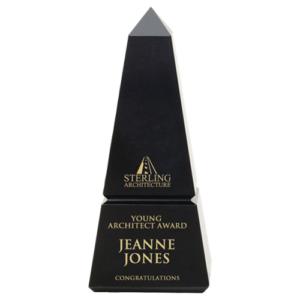 Black Marble Obelisk