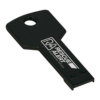 Black Laserable Key Flash Drive