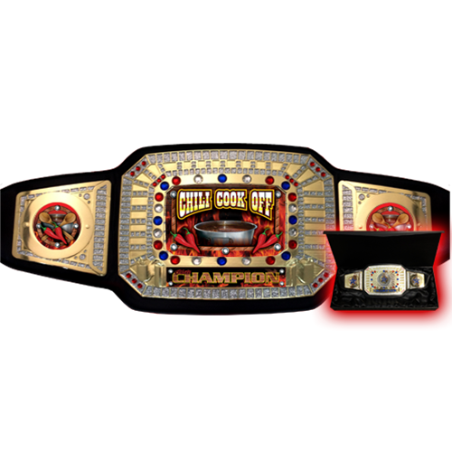 Chili Championship Belt