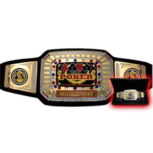 Poker Championship Belt