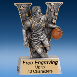 "Basketball Male ""V"" Series Resin Award-0"