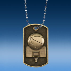 Basketball 3D Dogtag Medal-0