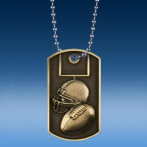 Football 3D Dogtag Medal-0