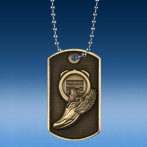Track 3D Dogtag Medal-0