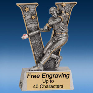 "Baseball ""V"" Series Resin Award-0"
