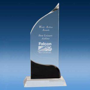 Crystal Pedestal Award-0