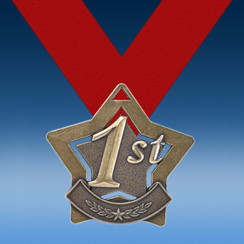 1st Place XS Series Medal-0