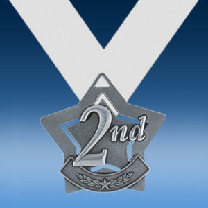 2nd Place XS Series Medal-0