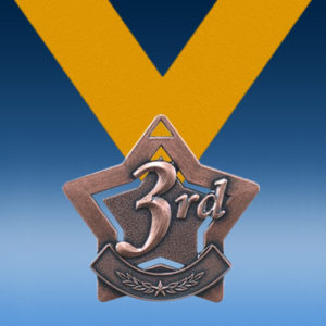 3rd Place XS Series Medal-0
