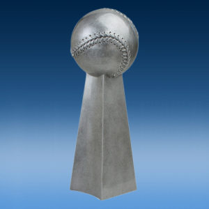 Baseball - Softball Championship Silver Tower Resin