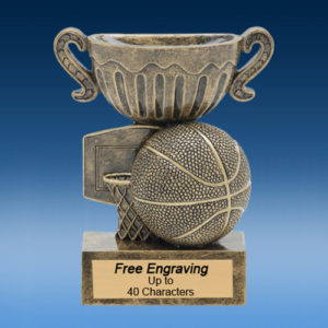 Basketball Econo Sport Cup Resin