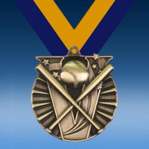 Baseball Victory Series Medal-0