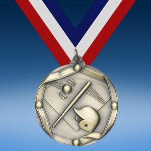 Baseball Die Cast Medal-0