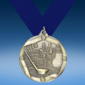 Golf Die Cast Medal-0