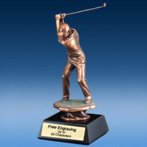 Golf Driver Male Sculpture