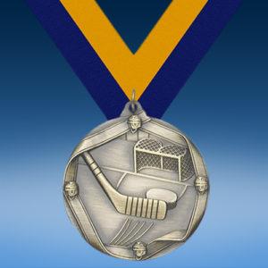 Hockey Die Cast Medal-0
