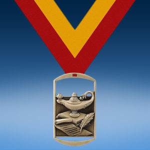 Lamp of Knowledge DT Medal-0
