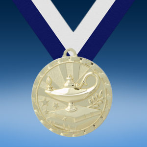Lamp of Knowledge GM Brite Medal-0