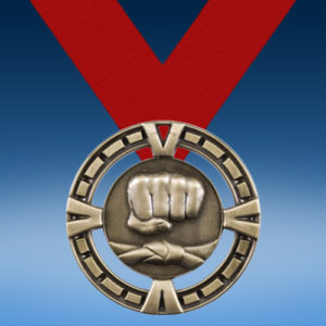 Martial Arts BG Medal-0