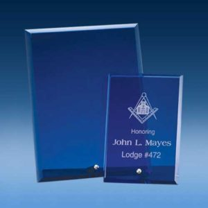 Premium Blue Glass Award-0