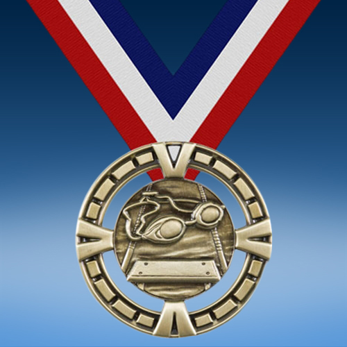 Swimming BG Medal-0