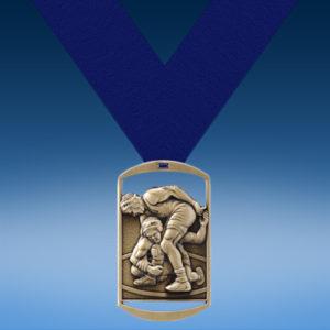 Wrestling DT Medal-0