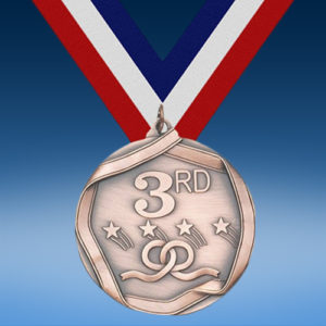 3rd Place Die Cast Medal-0