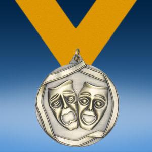 Drama Die Cast Medal-0