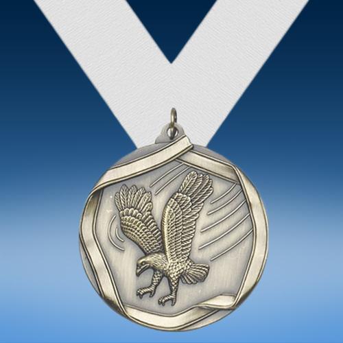 Eagle Die Cast Medal-0