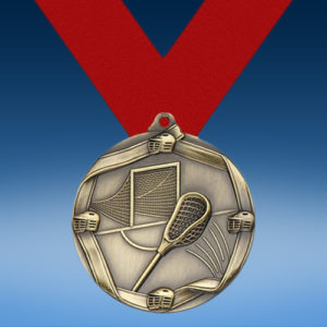 Lacrosse Die Cast Medal-0