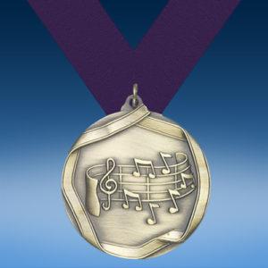 Music 2 Die Cast Medal-0