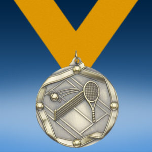 Tennis Die Cast Medal-0