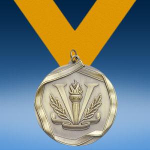 Victory Die Cast Medal-0