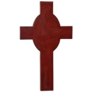 Wood Cross Plaque