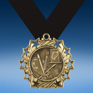 Art Ten Star 3D Medal-0