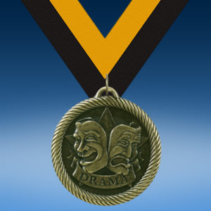 Drama Academic Wrapped Medal-0