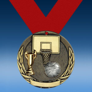 Basketball Two-Toned Series Medals-0